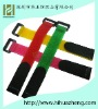 self-adhesive 100%nylon velcro cable ties with buckle