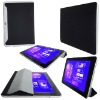 smart Cover Design Leather Case Cover For Samsung Galaxy Tab 10.1 P7510(Black Color)
