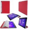 smart Cover Design Leather Case Cover For Samsung Galaxy Tab 10.1 P7510(Red Color)