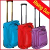 soft polyester rolling luggage