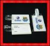 soft pvc promotional luggage tag FG529