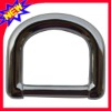 solid d-ring  metal buckle
