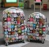 two pcs set hard luggage