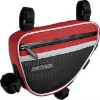 waterproof bicycle frame bag with velcro
