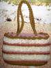wheat straw handbag