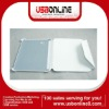 white guard case book cover leather case for Sumsang 6200 glaxy tab 7.0