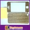 wood black walnut sticker for iphone4S/4