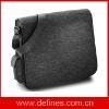 wool felt laptop shoulder bag
