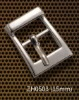 zinc alloy pin buckle for belt or bag 15 mm