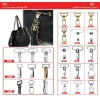 zinc alloy snap hook for handbag